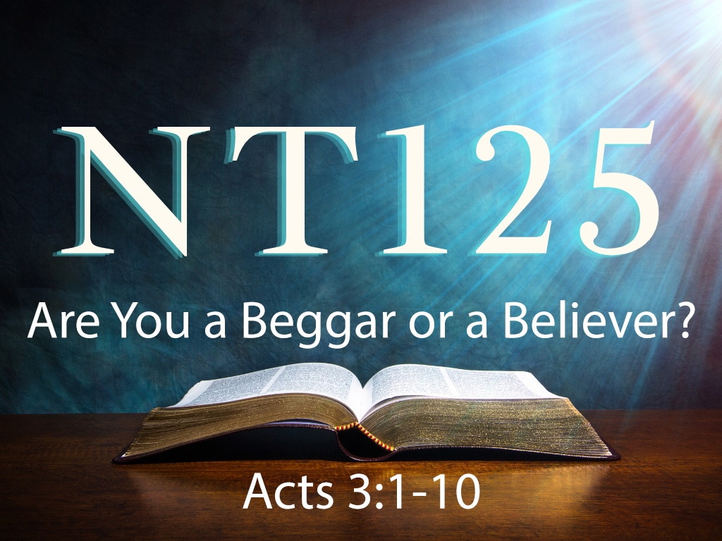 Are You a Beggar or a Believer
