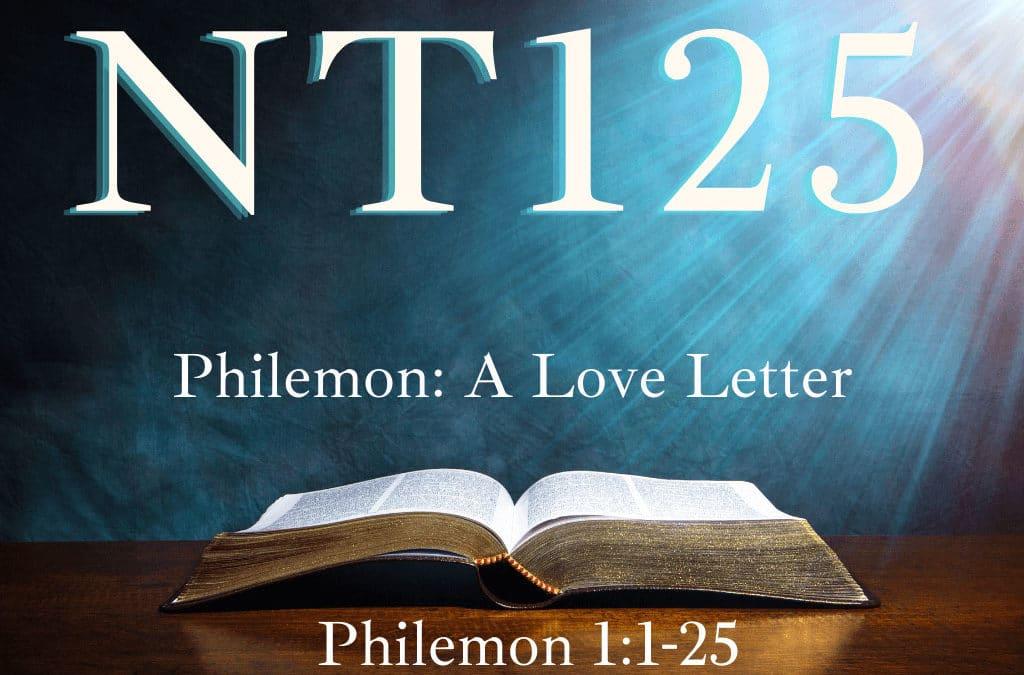Philemon: A Love Letter
