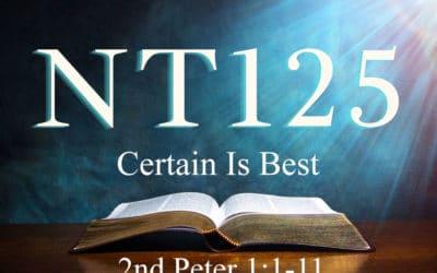 Certain Is Best