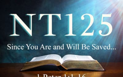 Since You Are and Will Be Saved…