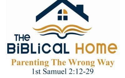 Parenting The Wrong Way